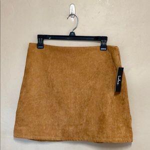 Lulus • corduroy skirt